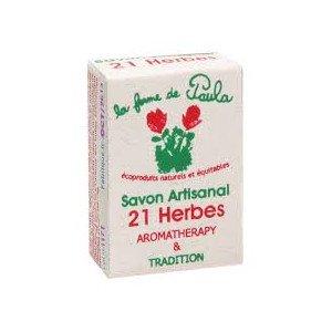Savon ayurvédique 21 herbes - La Ferme de Paula