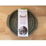 Porte savon en poterie rond - Anaé