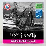 Filets de saumon sauvage au naturel - Fish4ever