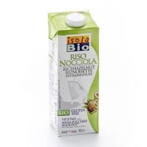 Drink riz aux noisettes Bio - Isola Bio